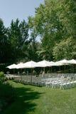 Localización de la boda Imágenes de archivo libres de regalías