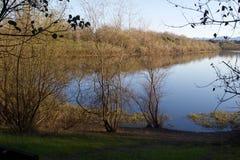 Localizado ao longo do rio do russo, o parque regional do beira-rio está apenas minutos de Windsor e de Healdsburg do centro imagem de stock