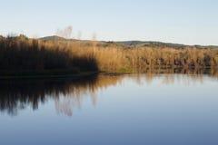 Localizado ao longo do rio do russo, o parque regional do beira-rio está apenas minutos de Windsor e de Healdsburg do centro fotos de stock royalty free
