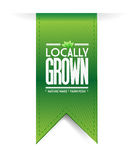 Locally grown banner concept illustration design Royalty Free Stock Photo