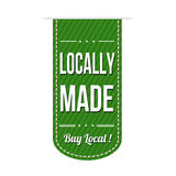 Locally made banner design Royalty Free Stock Photos