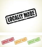 Locally made stamps Royalty Free Stock Photography