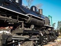 Locamotive蒸汽引擎 免版税图库摄影