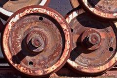 Locamotive轮子 库存图片