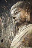 Locana buddha in longmen grottoes stock photos