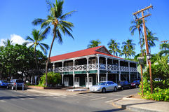 Locanda pionieristica, Lahaina, Maui Fotografie Stock Libere da Diritti