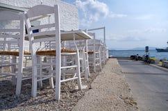 Locanda in un'isola greca Fotografia Stock