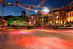 Locarno στον πάγο Στοκ Φωτογραφίες