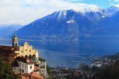 Locarno, die Schweiz Lizenzfreie Stockfotos