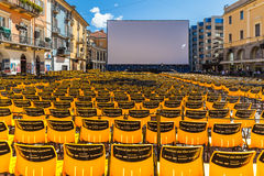 Locarno International Film Festival Royalty Free Stock Photo