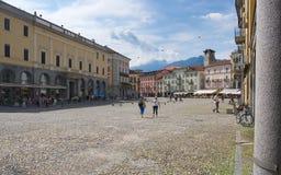 Locarno - Lake Maggiore - Switzerland. Alps Royalty Free Stock Image
