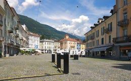 Locarno - Lake Maggiore - Switzerland. Alps Stock Image