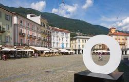 Locarno - Lake Maggiore - Switzerland. Alps Royalty Free Stock Photos