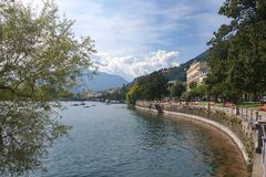 Locarno - Lake Maggiore - Switzerland. Alps Royalty Free Stock Photography