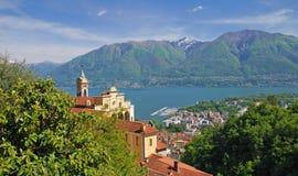 Locarno,Lake Maggiore,Ticino Stock Images