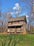 Johann Jacob Log Home. Located in Central Park in King, North Carolina, this cabin was built in 1774 by immigrant Johann Jacob and his wife Anna Catherine.  They Stock Image