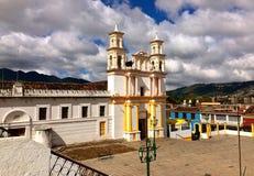 Templo y ex-convento de la Merced. San Cristobal de las Casas, Mexico Stock Photos