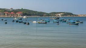 Beautiful coastline of Weihai Royalty Free Stock Images