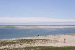 View of the Atlantic Ocean, Cape Cod royalty free stock photos