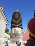 Liao Dynasty Building Tianning Ancient Tower royalty free stock images