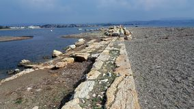 Ancient Port of The Teos Ancient City Royalty Free Stock Photography