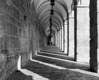 Temple Mount Corridor Royalty Free Stock Photography