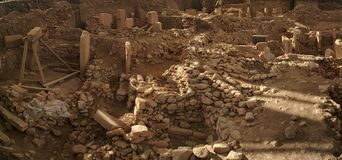Gobeklitepe Urfa royalty free stock photos
