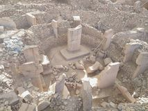 Gobeklitepe Urfa stock photography