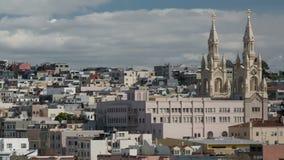 San Francisco Saint Peter and Paul Catholic Church stock footage