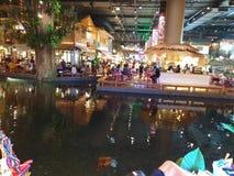 Iconsiam unique indoor floating market Bangkok stock photos