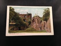 Kenilworth Castle Antique Postcard Stock Photography