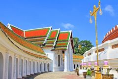 Phra Pathom Chedi, Nakhon Pathom, Thailand. Located in Wat Phra Pathom Chedi or Phra Pathom Chedi Temple in Nakhon Pathom Province, this is the biggest chedi in stock photography