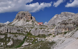 Locatelli Chalet stockbilder