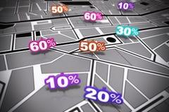 Free Location Based Marketing Royalty Free Stock Image - 23772826