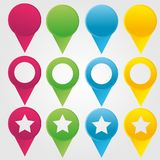 Location icon Stock Photography
