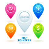 Location. An icon to show the place on the map vector illustration