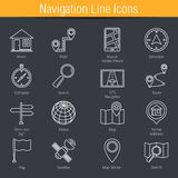 Location Icons Stock Images