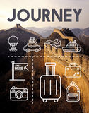 Location Mapping Journey Navigation Concept Royalty Free Stock Images