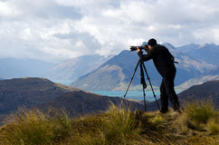 On Location Photographer stock photography
