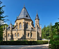 The Location of the Schwarzemberg tomb, Czech Republic. The neo-gothic Schwarzenberg family tomb is one of the most interesting architectural monuments in South Royalty Free Stock Photos
