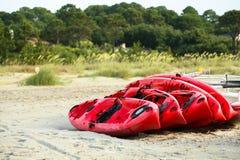 Locations de kayak Images stock