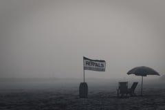 Locations de plage Photo libre de droits
