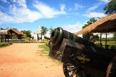 Locations film Legend of King Naresuan Royalty Free Stock Photography