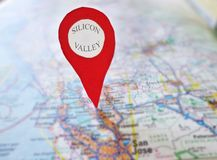 Locator map Stock Photos
