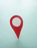 Locator point Royalty Free Stock Image