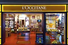 Loccitane cosmetics outlet Stock Photo