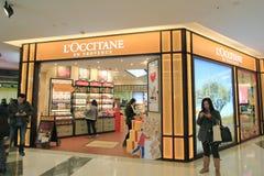 Loccitane shop in hong kong Stock Photo