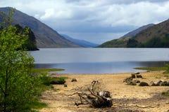 Loch écossais Images libres de droits