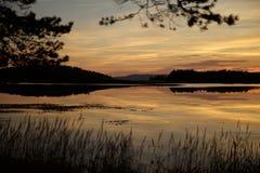 Loch écossais photographie stock libre de droits