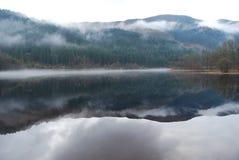 Loch écossais Trossachs Image libre de droits